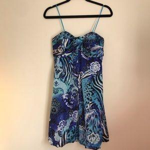 Cache Silk Bubble Dress